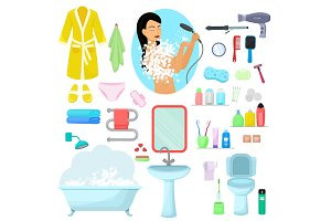 Hygiene personal care vector
