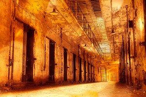 Infernal Prison Corridor