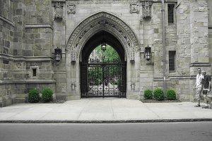 Graduation Gate at Yale University
