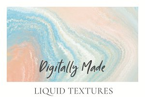 6 Abstract Liquid Textures