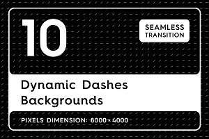10 Dynamic Dashes Backgrounds
