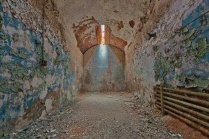 Prison Grunge Cell