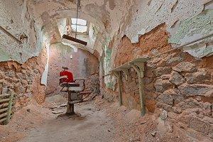 Barber Prison Cell