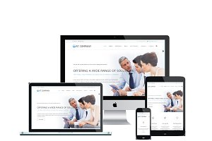 AT Company Joomla! template
