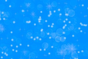 Blue christmas background with stars