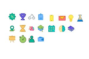 Masivicons Icon Pack | Education