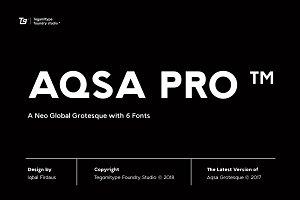 85% Off - TG Aqsa Grotesque Pro ™