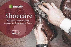 Shoecare – Parallax Shopify Theme