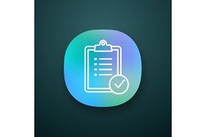 Task planning app icon