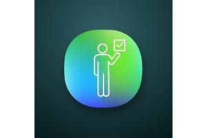 Voter app icon