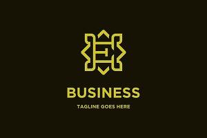 luxurious E logo