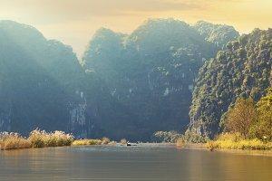 Ninh Binh province, Vietnam.