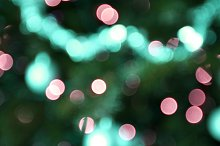 Holiday background in colorful light by  in Holidays