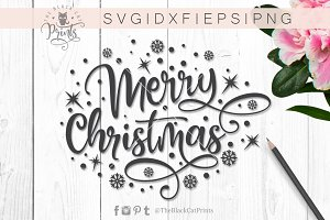 Merry Christmas SVG DXF PNG EPS – 4