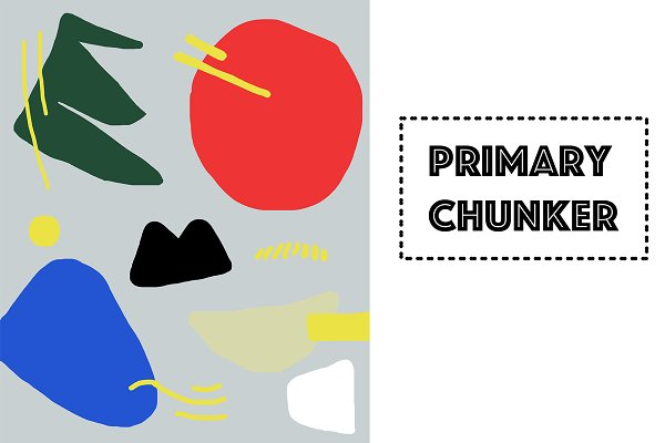 Primary Chunker Art Illustration