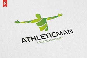 Athletic Man Logo