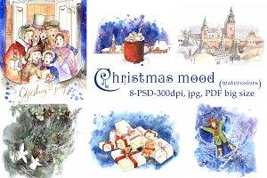Christmas mood.