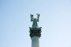 Archangel Gabriel. Budapest, Hungury