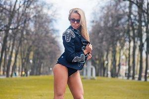 Fashion hot adult woman