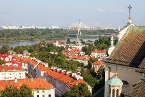Warsaw Cityscape in Poland
