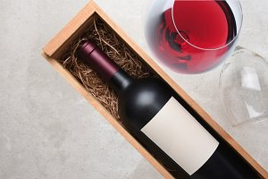 Cabernet Sauvignon: A bottle in wood
