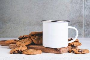 Cookies Camp Mug Mockup