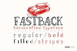 Fastback - Font Family