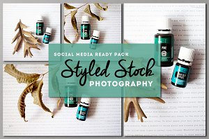 Essential Oil Stock Photography Pack