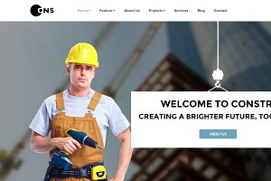 Constru-Construction Joomla Template