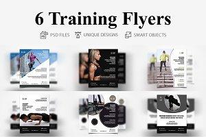 6 Training Flyers
