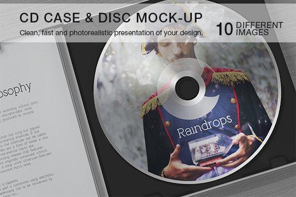 Download CD Case & Disc Mock-up