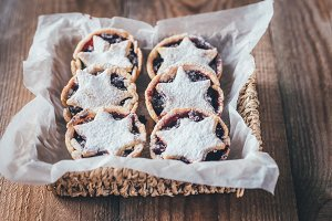Mince pies  - traditional Christmas