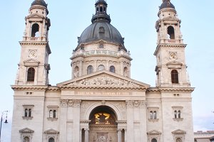The St. Stephen's Basilica, Hungury