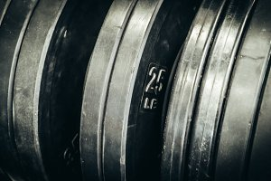 Rubber Olympic Lifting Plates