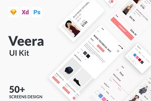 Veera E commerce UI Kit