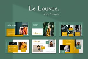 Le Louvre Keynote Presentation