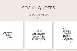 New Year Social Quotes (15 Images)