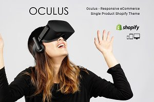 Oculus Single Product Shopify Theme