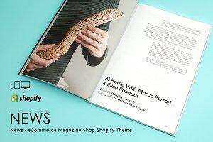 News – Magazine Shop Shopify Theme
