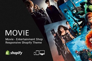 Movie – Entertainment Shopify Theme
