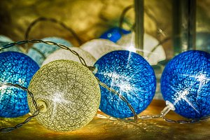 Christmas holidays composition on