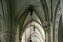 Arches and lights. Vienna