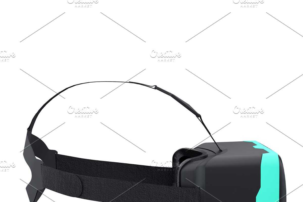 30c83d21271 VR Goggles Headset Isolated ~ Illustrations ~ Creative Market