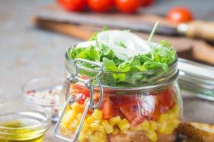 Mason Jar Salad