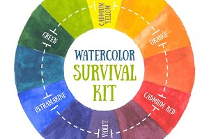 Watercolor survival kit