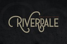 Riverdale by  in Display Fonts