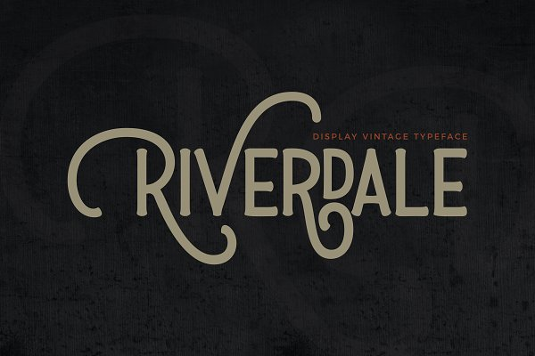 Fonts - Riverdale