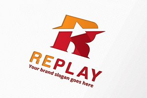 Replay Letter R Logo