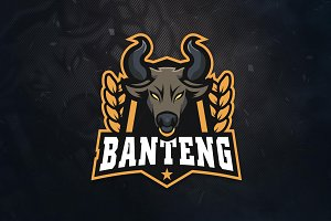 Banteng Sports & E-Sports Logo