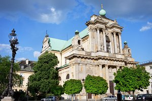 Carmelite Church in Warsaw
